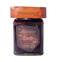 The Earth Reserve All Natural Mulberry Preserve - 300 gm