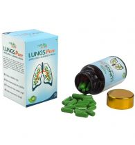 Nature Sure Lungs Pure Capsules for Respiratory Health in Men & Women – 1 Pack (60 Capsules)