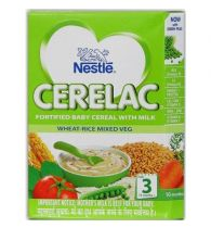 Nestle Cerelac Wheat Mixed Vegetable (Stage 3) 300gm