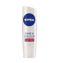 Nivea Care and Color Lip Care Ruby Red 4.8gm