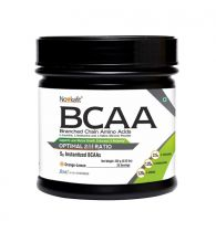 Novkafit BCAA Powder 250 g(0.55 lb) 25 Servings (Orange-Lemon Flavour)