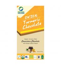 Organic Wellness Turmeric Chocolate 42.5 gm