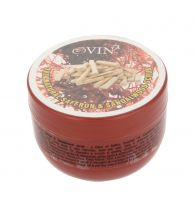 Ovin Gentle Saffron Sandalwood Herbal Facial And Body Herbal Scrub 100 gm
