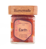 The Earth Reserve All Natural Papaya Citrus Jam - 150 gm