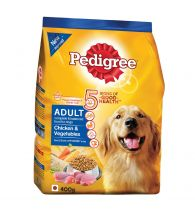 Pedigree Daily Food for Adult Dogs Chicken and Vegetables 400gm