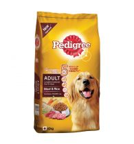 Pedigree Daily Food for Adult Dogs Meat and Rice 10kg