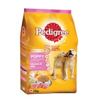 Pedigree Daily Food for Puppy Chicken and Milk 1.2kg