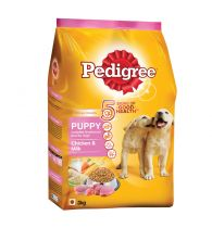Pedigree Daily Food for Puppy Chicken and Milk 3kg