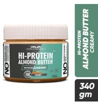 Ripped Up Nutrition Hi-Protein Almond Butter Creamy 340g