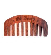Saint Beard Comb - Handcrafted Shisham Wood