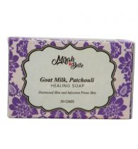 Mirah Belle Naturals Goat Milk, Patchouli Healing Soap 30gm