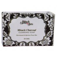 Mirah Belle Naturals Miracle Charcoal Cleansing Soap 30gm