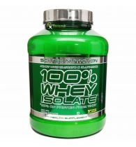 SCITEC 100% Whey Isolate v2.0 - 4.4 lbs (Banana)