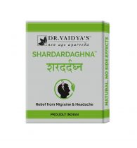 Dr. Vaidya's Shardardaghna Pills - Ayurvedic Treatment for Migraine & Headache - Pack of 3