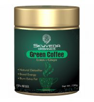 Skyveda Organics  Green Coffee for Weight loss for Men & Women 100gm