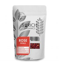 Sorich Organics Rose Petals Herbal Tea for Hair and Skin Care - 100 Gm