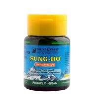Dr. Vaidya's Sung-Ho - Ayurvedic Inhalant for Cold, Sinus and Decongestion - Pack of 3