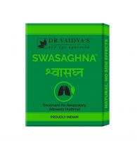 Dr. Vaidya's Swasaghna Pills - Ayurvedic Relief from Asthma & Respiratory Problems - Pack of 3