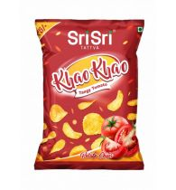 Sri Sri Tattva Khao Khao Tangy Tomato Potato Chips - 13gm