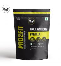 PRO2FIT Vegan Plant protein powder with Pea protein Brown Rice and Mungbean Protein – VANILLA 500g