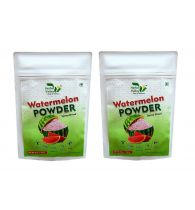 Indian Herbal Valley Natural, Pure and Real Watermelon Powder (Pack of 2) 50g Each