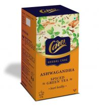 Care Spice Green Tea with Ashwagandha - 25gm