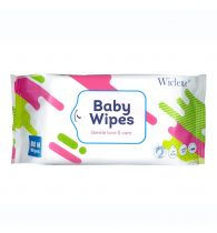 Wiclenz Baby Wipes - Pack of 80 Wipes (Model N)