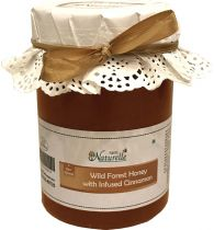 Farm Naturelle (Farm Natural Produce) Cinnamon Infused Natural Wild Forest Honey - 815 Grams