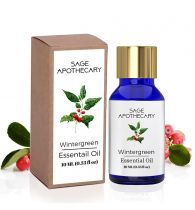Sage Apothecary Wintergreen Essential Oil - 10 ml