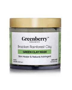 Greenberry Organics Green Clay Mask 100gm