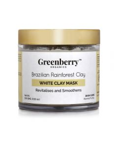 Greenberry Organics White Clay Mask 100ml