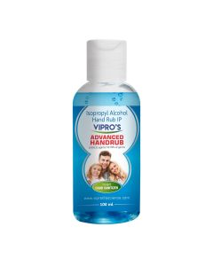 Vipro's Hand Rub (Sanitizer) Advanced 100 ml