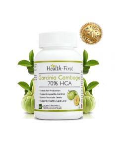 Health First 100% Natural Pure Garcinia Cambogia Max Extract Weight Loss Supplement 800 Mg (90 Capsules)