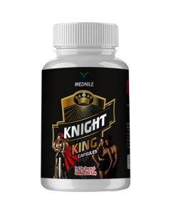Mednile Knight King Capsule (60caps) Restores Energy And Improves Vitality, Physical Strength And Stamina In Men