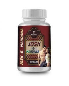 Mednile Josh - E - Mardana Capsule (60caps) Restores energy and improves vitality, physical strength and stamina in men