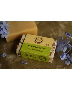 Horeca Soaps Lavender Cold Process Soap all-natural and handmade 100 gm