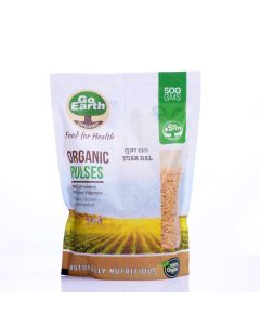 Go Earth Organic Tuar Dal 500gm
