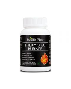 Health First Thermo Fat Burner For Weight Loss And Energy Booster - 60 Capsules
