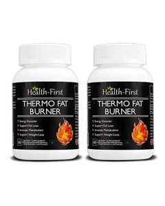 Health First Thermo Fat Burner for Weight Loss and Energy Booster, 180 Capsules