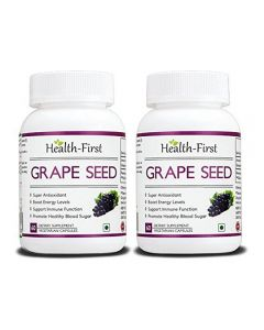 Health-first Grape Seed Extract 500mg, 120 Vcaps