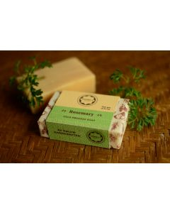 Horeca Soaps Rosemary Cold Process Soap all-natural and handmade 100 gm