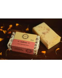 Horeca Soaps Saffron Cold Process Soap all-natural and handmade 100 gm