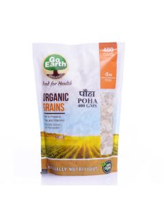 Go Earth Organic Rice Poha 400gm