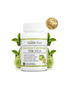 Health First 100% Natural Pure Garcinia Cambogia Max Extract Weight Loss Supplement 800 Mg (60 Capsules)