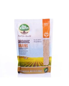 Go Earth Organic Wheat Daliya 500gm