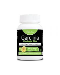 Health First Garcinia Cambogia Extract Plus Premium High Strength Weight Loss Pills -60 Capsules