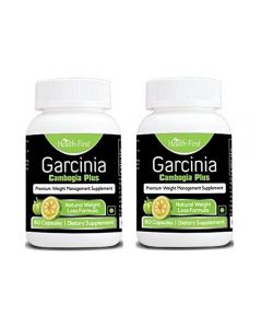 Health First Garcinia Cambogia Premium Weight Loss Pills With Green Tea Extract, Capsicum, Yohimbe Extract (60 Capsules) (120 capsules)