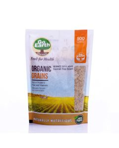Go Earth Organic Basmati Rice Brown 500gm