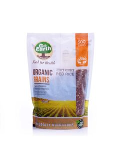 Go Earth Organic Red Rice 500gm