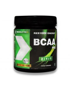 Muscletrex BCAA Pro - Tangy Orange - 300gm (0.66 lbs)